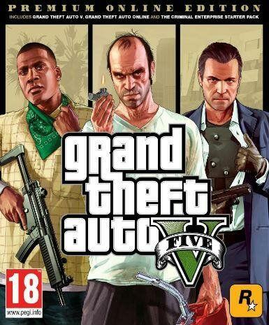 Grand Theft Auto V GTA 5 - Premium Online Edition (PC) klucz Rockstar