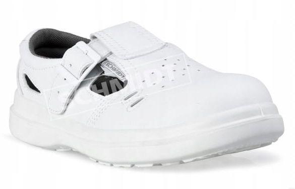 Sandał biały Kneiter Albi S1