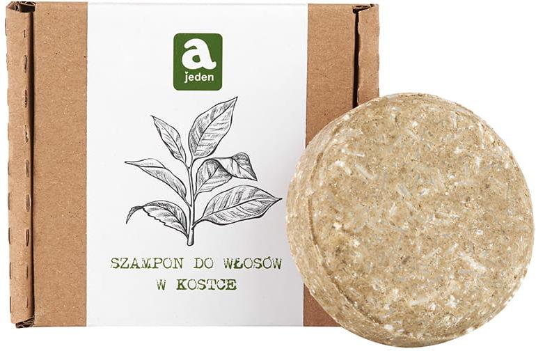 Ajeden Szampon w Kostce  Zielona Herbata 74g