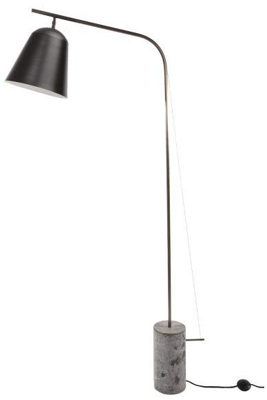 LINE ONE Black Lampa podłogowa