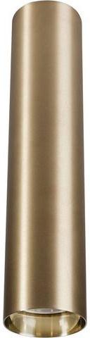 Plafon Eye M 8912 Nowodvorski Lighting mosiężna oprawa w kształcie tuby