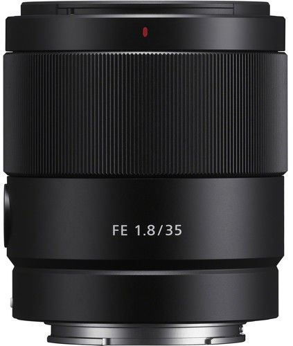 Sony FE 35mm F1.8 - obiektyw stałoogniskowy, SEL35F18F Sony FE 35mm f/1.8 / SEL35F18F