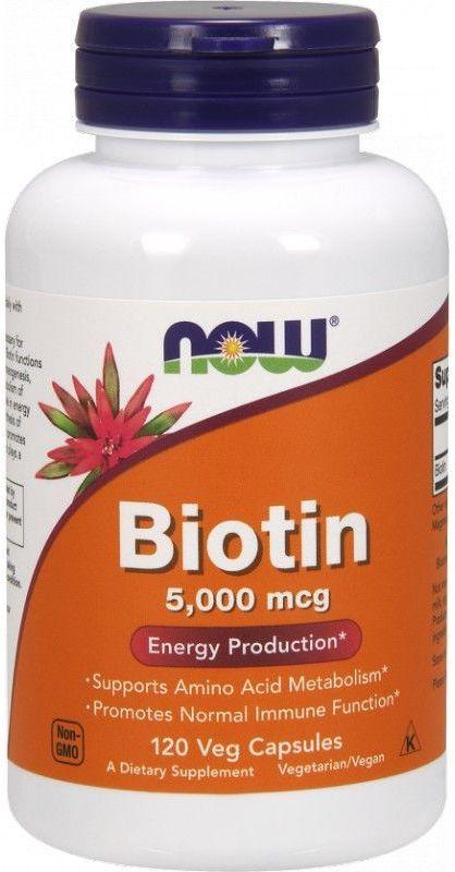 Now Foods Biotin 120 Vcaps