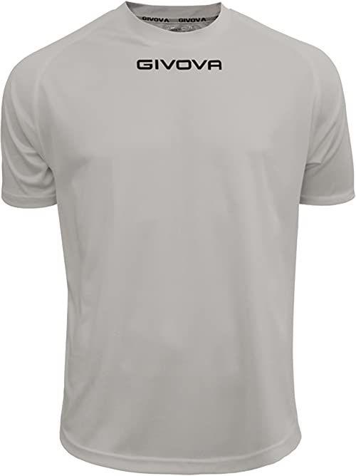 Givova - MAC01 Sport T-shirt, szary przezroczysty, M