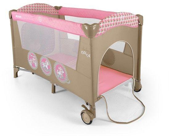 Łóżeczko Milly Mally Mirage Pink Toys