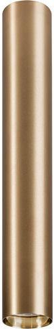 Plafon Eye L 8913 Nowodvorski Lighting mosiężna oprawa w kształcie tuby