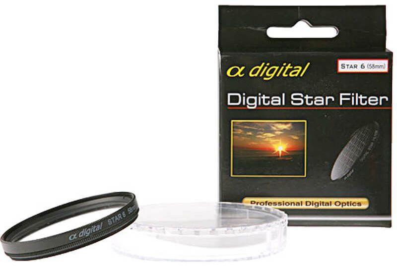 Filtr gwiazdkowy Alpha Digital x6 62mm