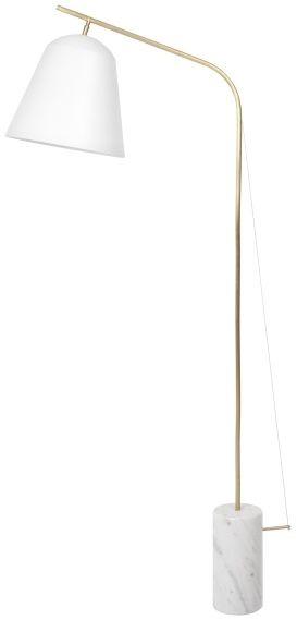 LINE TWO White Lampa podłogowa