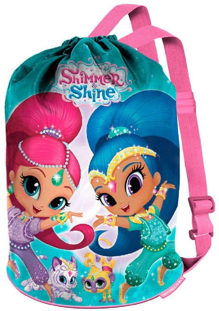 KARACTERMANIA Y Shine Dancing torba plażowa, 40 cm, różowa, 36309