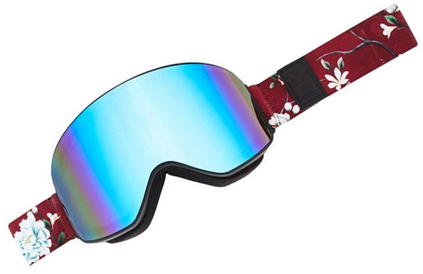 ROJO STEALTH WINTER FLORAL womens snowboard goggles