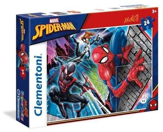 24 elementy MAXI Super Kolor Spider-Man