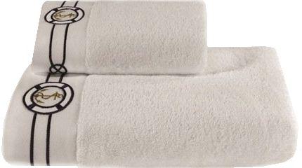 Podarunkowy zestaw ręczników MARINE MAN, 2 szt Biały