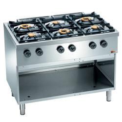 Kuchnia gazowa 6 palnikowa 25800W