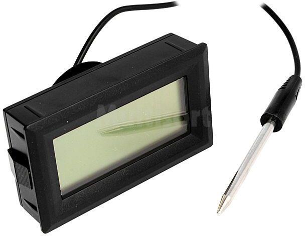 Panelowy miernik temperatury LCD 3,5 cyfry 19mm -50 300 C