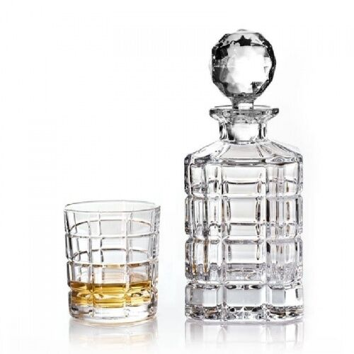 Zestaw do whisky karafka i 6 szklanek Bohemia