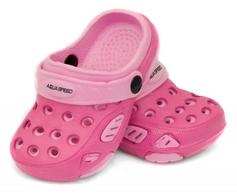 Klapki basenowe AquaSpeed Lido 03 różowe Rozmiar buta: 24
