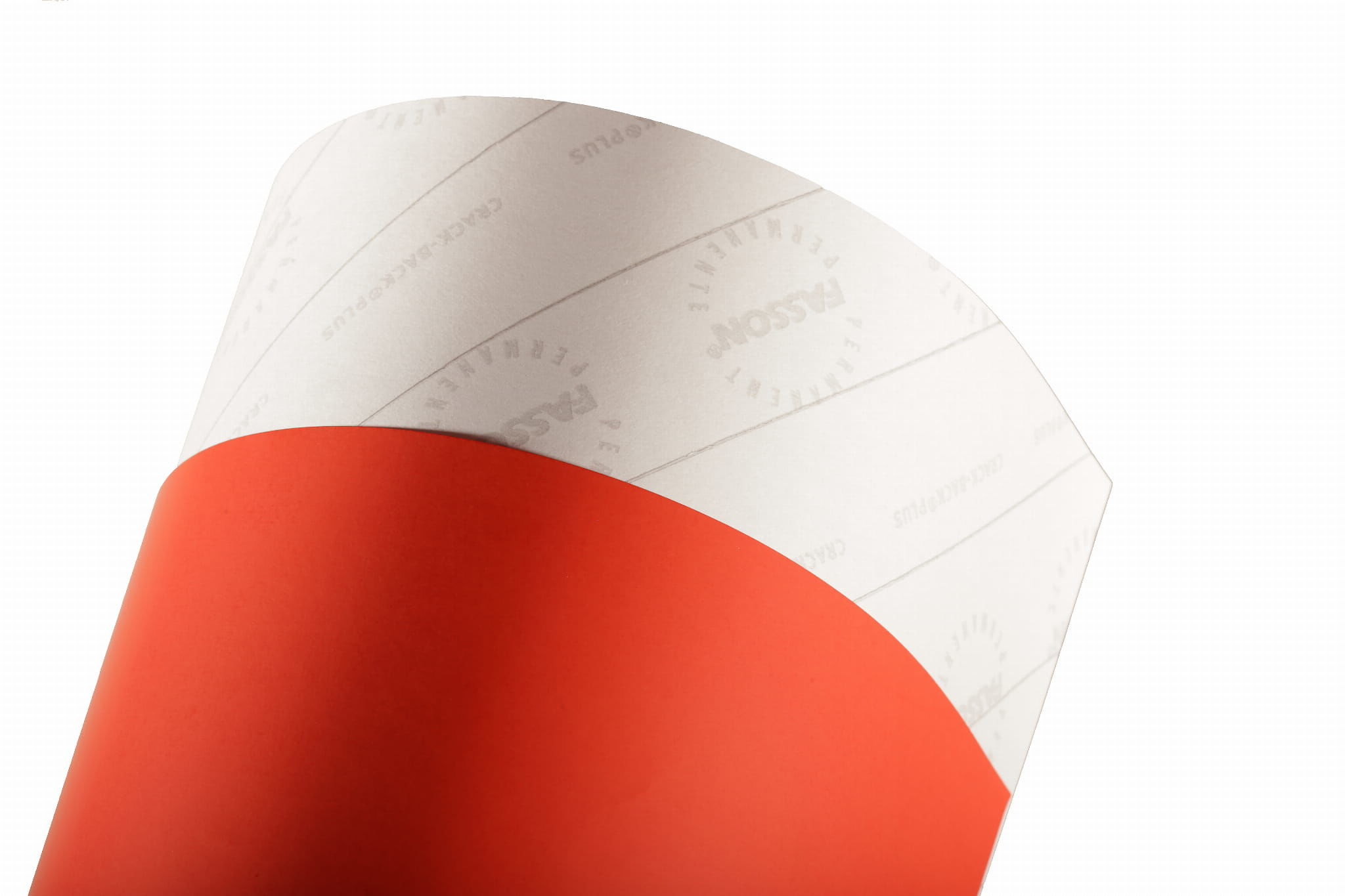 Papier samoprzylepny Eurotak czerwony mat 80 50x70 (nacinany) cut przecena - 33%