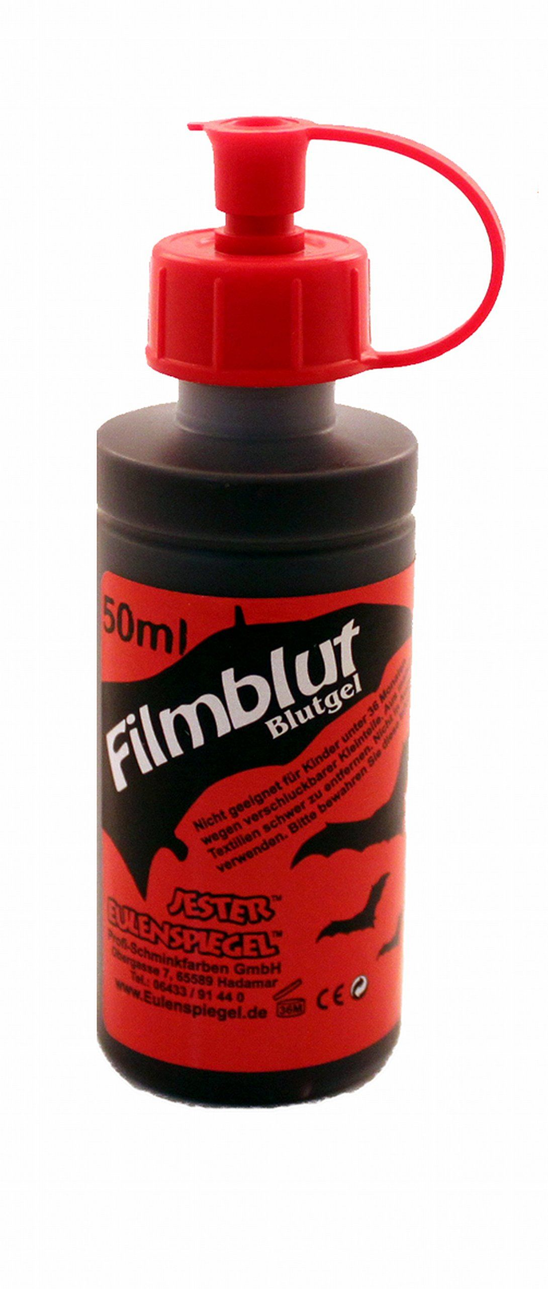 Eulenspiegel 405017 - kwiat filmowy, 50 ml, sztuczna krew do efektów specjalnych