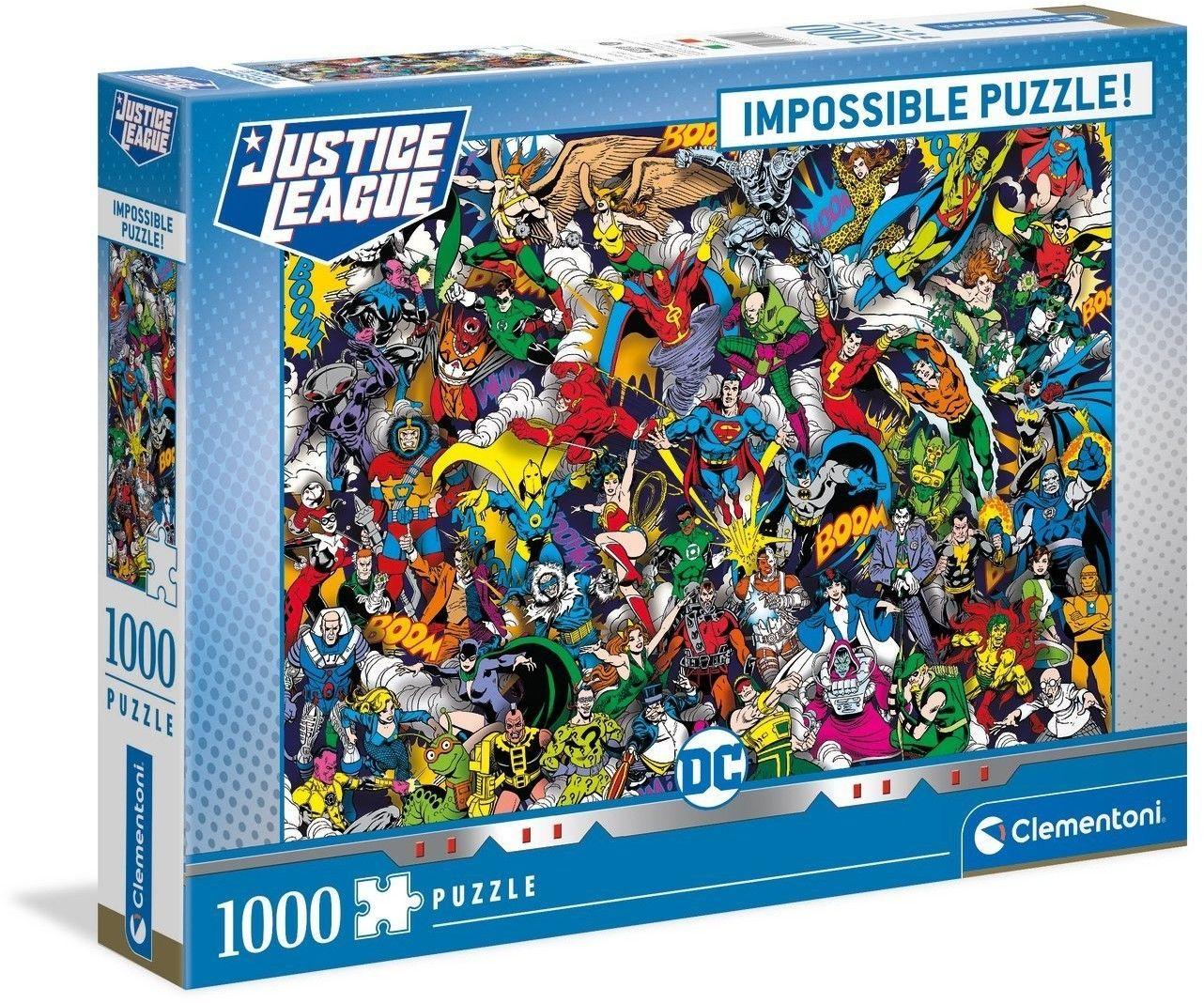Clementoni Puzzle DC Comics Impossible Puzzle 1000 elementów 39599