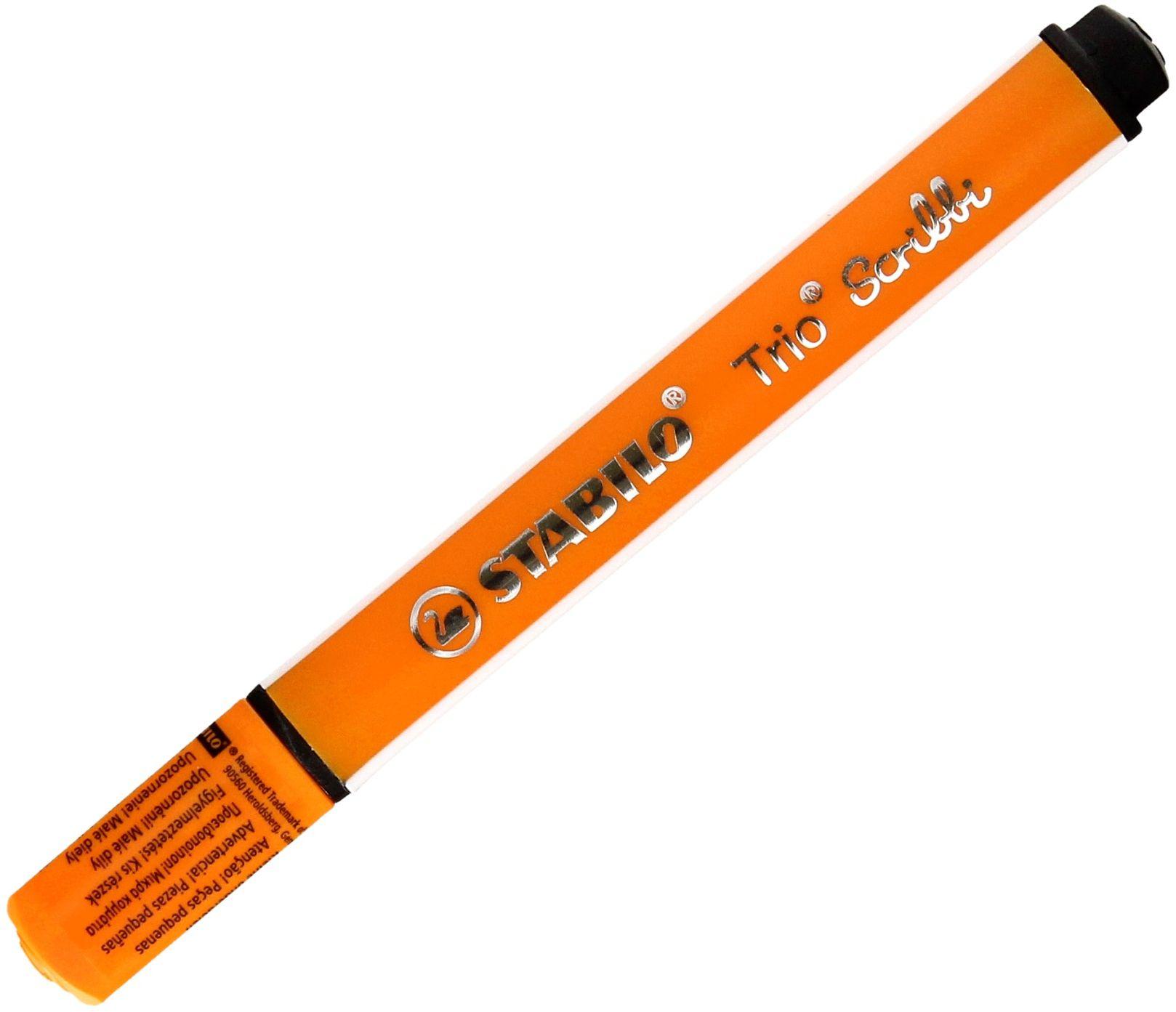 Flamaster pomarańczowy TrioScribbi Stabilo 368