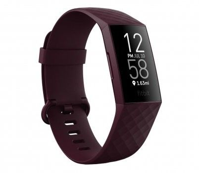 FITBIT Charge 4 (NFC), Rosewood/Rosewood