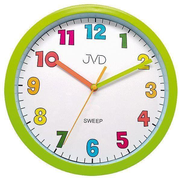 Zegar ścienny JVD HA46.4 Kolorowy, cichy