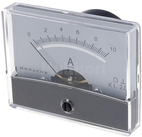 Panelowy miernik prądu DC 0 10A Klasa dokładności:2,5