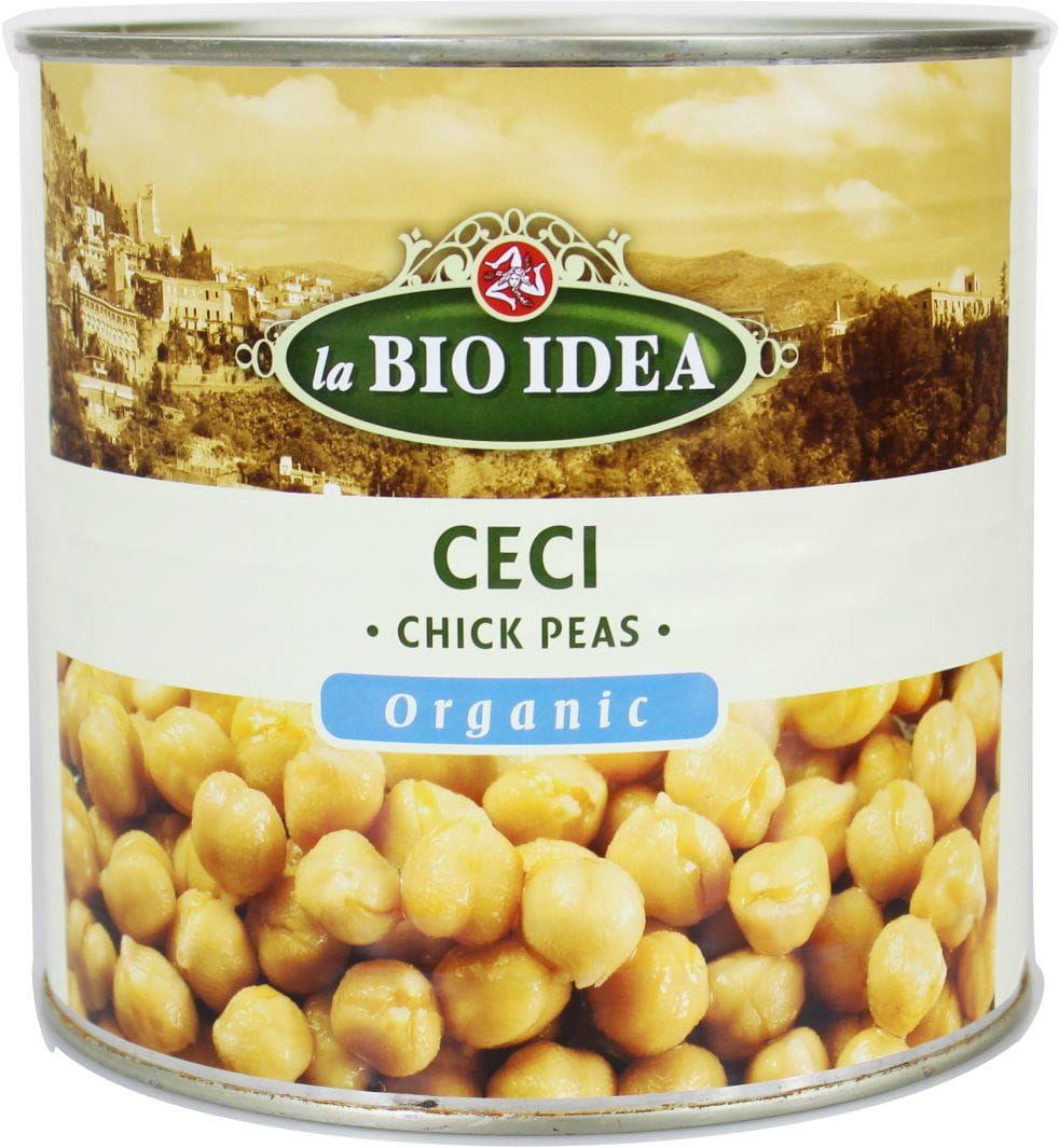 Ciecierzyca konserwowa bio 2,5 kg - horeca
