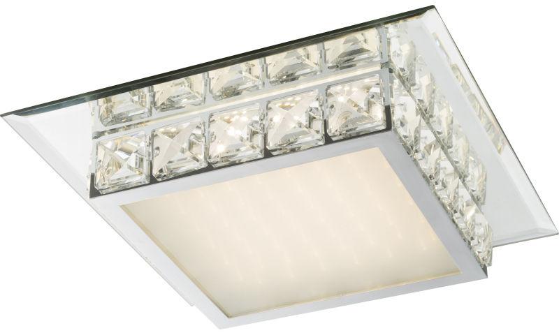 Globo MARGO 49355-18 plafon lampa sufitowa chrom LED 18W 4000K 34cm