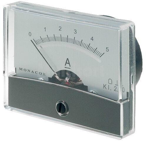 Panelowy miernik prądu DC 0 5A Klasa dokładności:2,5