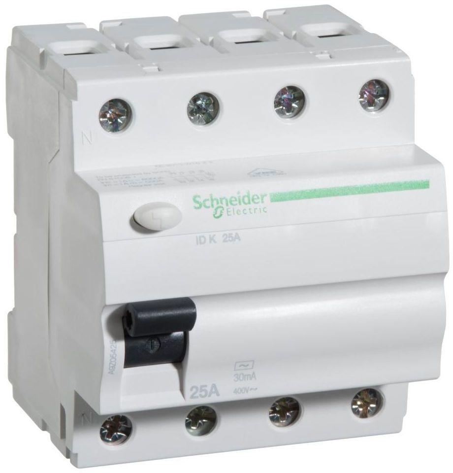 Wyłącznik różnicowoprądowy IDK - 25 - 4 - 30 - AC SCHNEIDER ELECTRIC