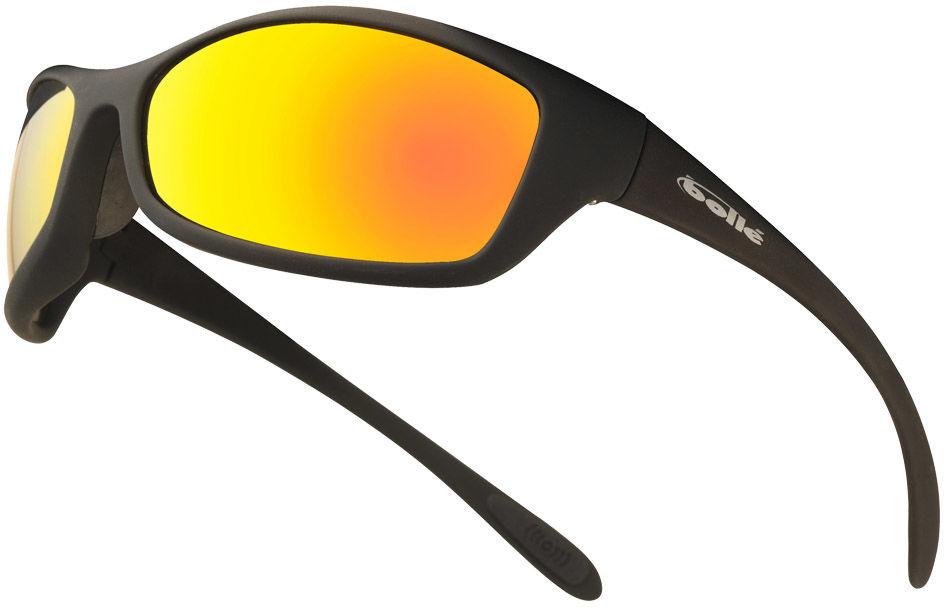 Okulary taktyczne Bolle Spider Grey Base Red Mirror (SPIFLASH)