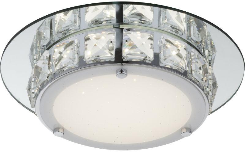 Globo MARGO 49356 plafon lampa sufitowa chrom LED 12W 4000K 25cm