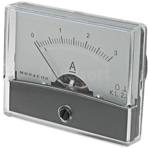 Panelowy miernik prądu DC 0 3A Klasa dokładności:2,5