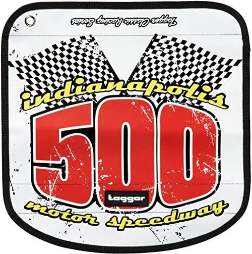 Tagger 5001-503251-BSLY Messenger Flap Crew Indy 500 BSLY, unisex  dla dorosłych, 46 x 30 x 15 cm (szer. x wys. x głęb.), Weiss/Bsly (biały) - 5001-503251-BSLY
