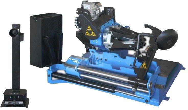 """MC605 - montażownica elektrohydrauliczna do kół samochodów ciężarowych 13-27"""""""