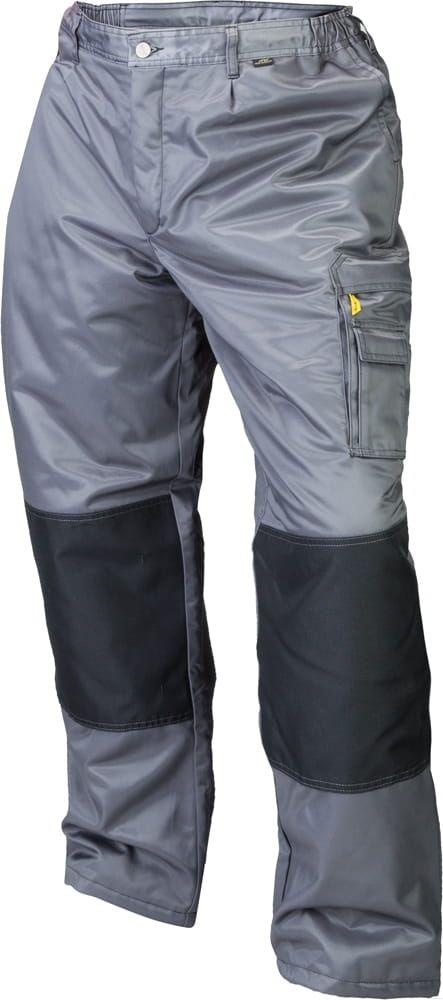Spodnie do pasa ocieplane Work, szare