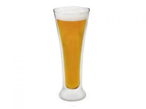 Szklanka do piwa o pojemności 325 ml z podwójnymi ściankami marki Vin Bouquet FIH 287