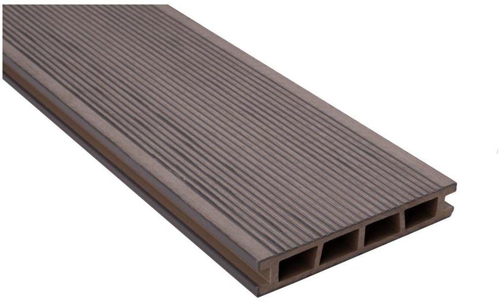 Deska kompozytowa 240 x 15 cm 25 mm GALA szara DLH