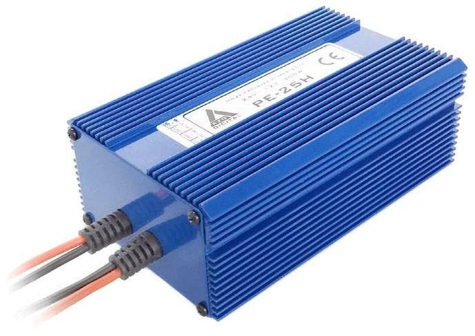 Przetwornica napięcia 24 VDC / 13.8 VDC PE-25H 300W Wodoszczelna - pełna izolacja IP67