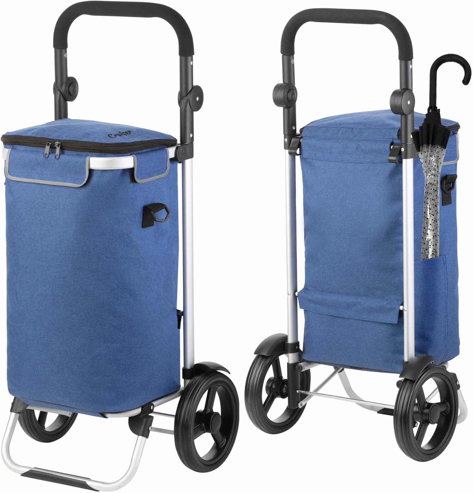 Wózek zakupowy Cruiser Allround /niebieski/
