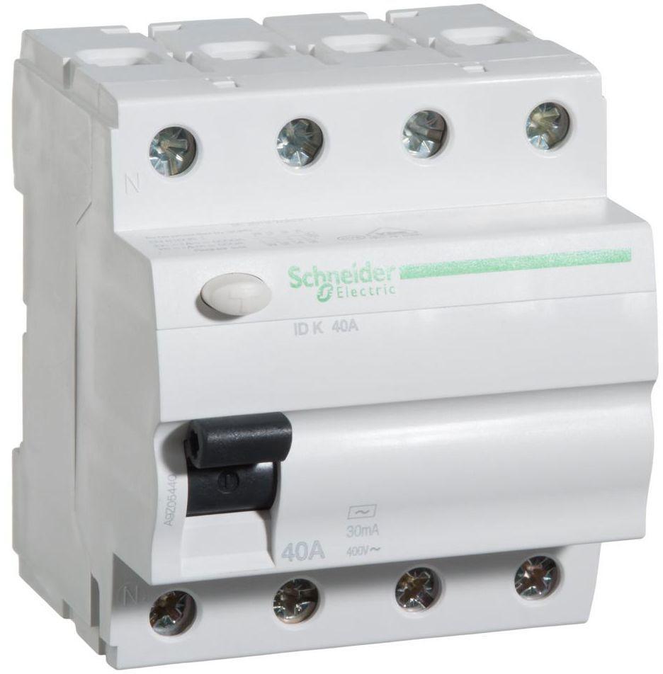 Wyłącznik różnicowoprądowy IDK - 40 - 4 - 30 - AC SCHNEIDER ELECTRIC