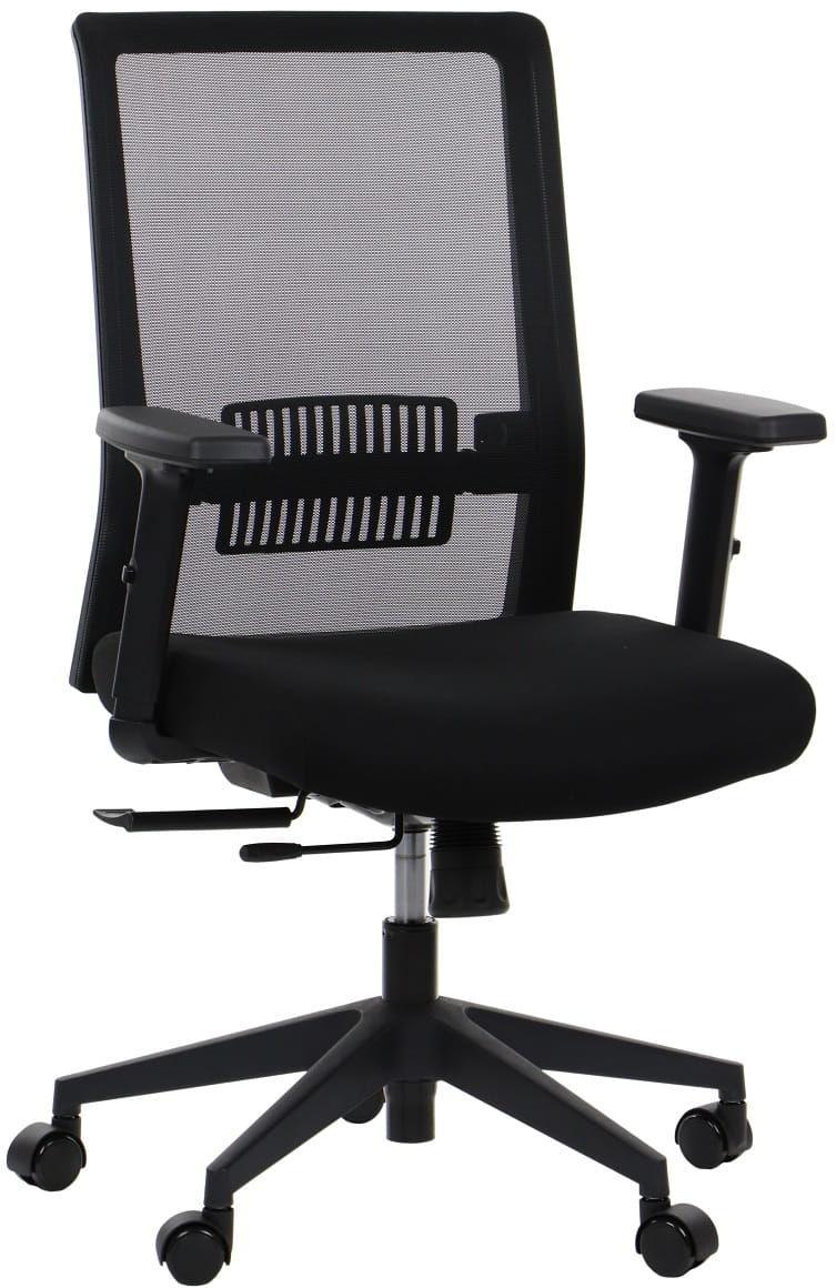 Krzesło biurowe obrotowe RIVERTON - oparcie siatkowe, różne kolory