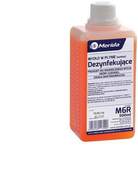 Mydło w płynie dezynfekujące 500 ml