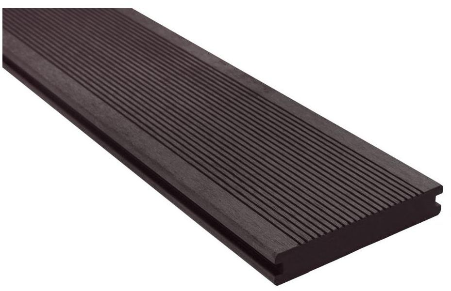Deska kompozytowa lita 240 x 14 cm 20 mm SOLID grafitowa DLH