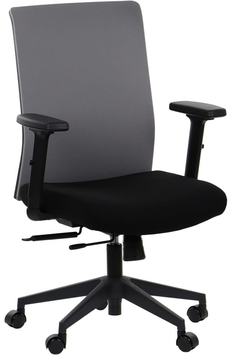 Krzesło biurowe obrotowe RIVERTON - oparcie tkaninowe, różne kolory