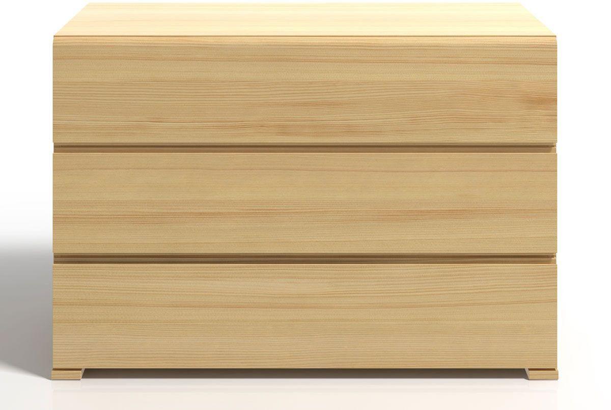 Komoda drewniana z szufladami Verlos 2S - Sosna