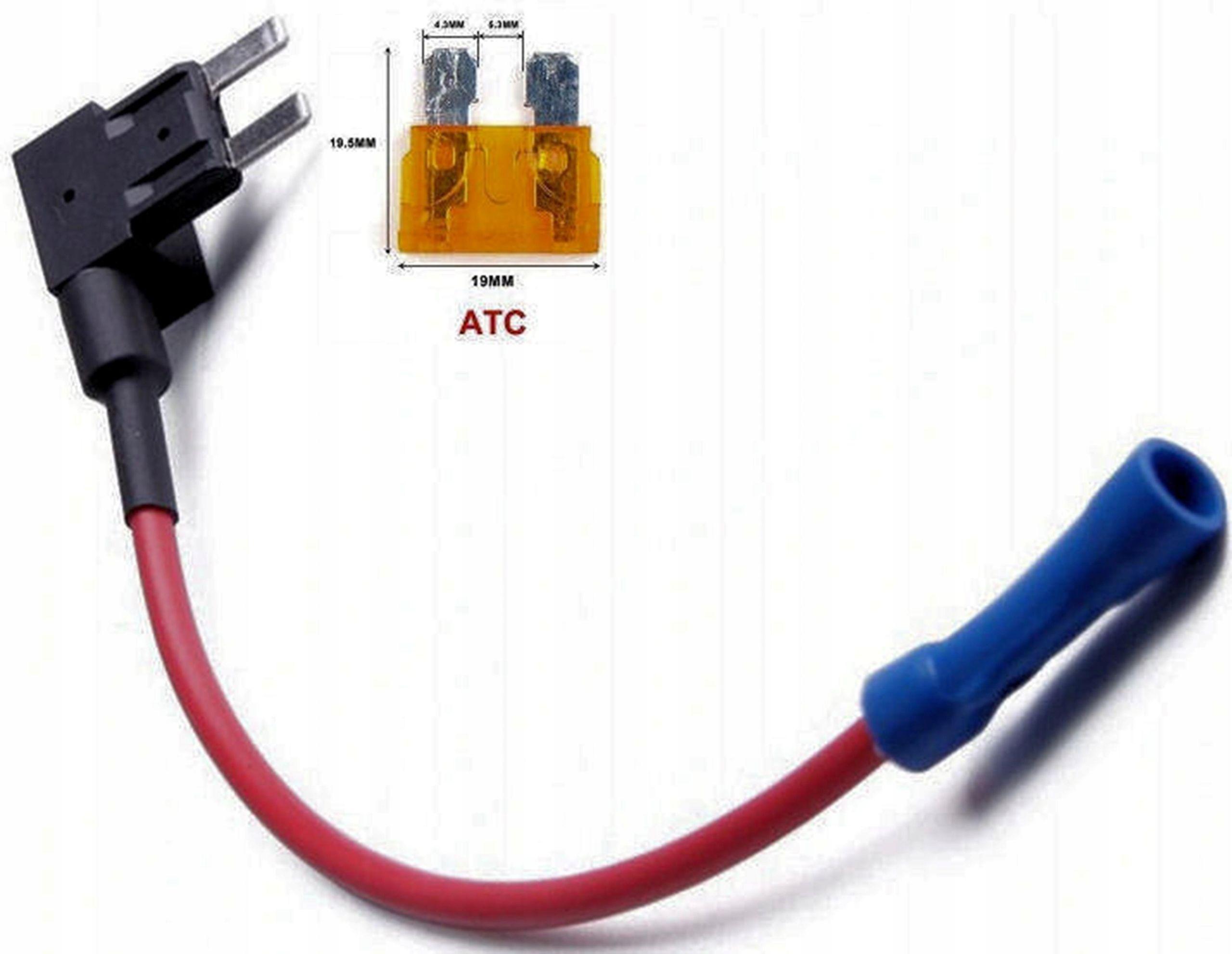 Adapter Przejściówka do skrzynki bezpieczników ATC