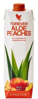 Nektar z miąższem z liści aloesu o smaku brzoskwiniowym - FOREVER ALOE PEACHES