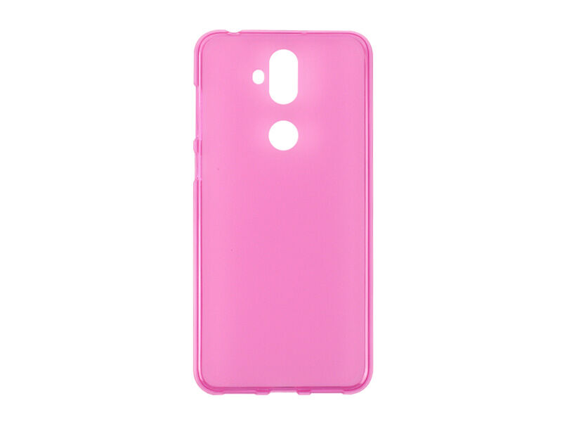Asus Zenfone 5 Lite (ZC600KL) - etui na telefon FLEXmat Case - różowy